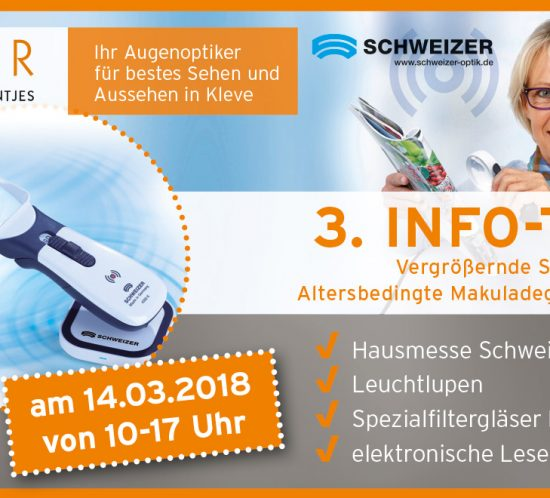 Informationstag Makuladegeneration